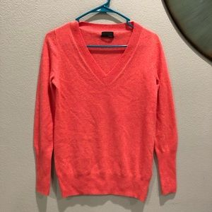 J. Crew Collection Italian Cashmere VNeck Sweater